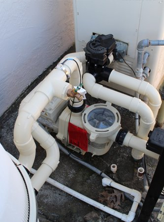 pool equipment and filter repair